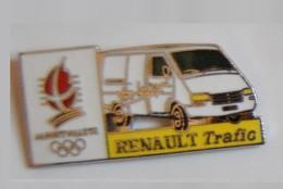 3 Pin's: Renault Trafic -Renault Clio -  Renault Express - Albertville 92 - COJO 91 - Renault