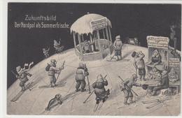 CPA-ALLEMANDE-Zukunftsbild. Der Nordpol Als Soerfrische-TBE - Unclassified