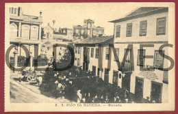 PORTUGAL - S. JOAO DA MADEIRA - MERCADO - 1930 PC - Aveiro