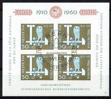 Schweiz 1960 // Mi. 719 O Block 17 - Gebraucht