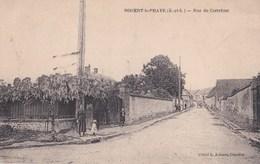 CPA  : Rare Nogent Le Phaye (28) Rue Du Carrefour   Ed Aubert - France