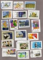 Privatpost - Lot Von 19 Verschiedenen Marken Auf Briefstücken - BRD