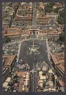 80905/ ROMA, Piazza Del Popolo, Veduta Aerea - Plaatsen & Squares