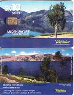 PERU - Andahuaylas/Laguna De Pacucha, Telefonica Telecard, Chip GEM3.3, Tirage %50000, 11/00, Used - Peru