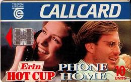 TARJETA TELEFONICA DE IRLANDA, ERIN HOT CUP. 1106 (068) - Irlanda