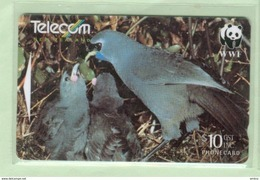 New Zealand - 1998 WWF Endangered Birds - $10 Kokako - NZ-G-191 - Very Fine Used - New Zealand