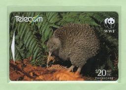 New Zealand - 1998 WWF Endangered Birds - $20 Kiwi - NZ-G-192 - Very Fine Used - New Zealand