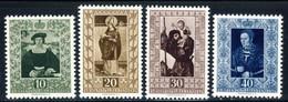"""1953 Liechtenstein MNH OG Set Of 4 Stamps """"Famous Paintings"""" Michel # 311-314 - Liechtenstein"""
