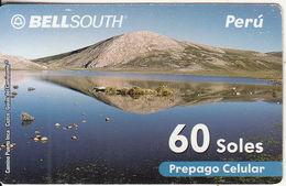 PERU - Camino Puerto Inca/Cuzco, BellSouth Prepaid Card 60 Soles, Exp.date 12/02, Used - Peru