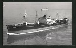 Photo Frachtschiff Saint Marcouf In Fahrt - Bateaux