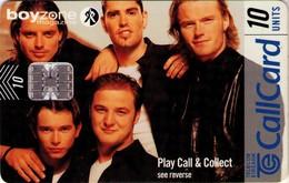 TARJETA TELEFONICA DE IRLANDA, BOYZONE. 1190 (075) - Música