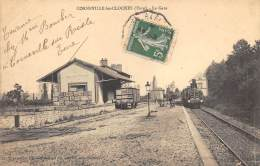EURE  27  CORNEVILLE LES CLOCHES   LA GARE - TRAIN - Autres Communes