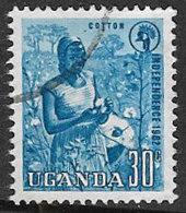 Uganda SG103 1962 Independence 30c Good/fine Used [37/30866/2D] - Uganda (1962-...)