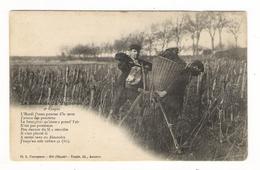 YONNE  /  LA SEMAINE DU VIGNERON  ( Environs De CHABLIS ) /  LE  MARDI.... ( 2ème Couplet ) /  Edit.  TOULOT  N° 454 - France