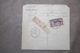 PARIS 75 - Lettre Recommandée Affranchie MERSON De La COMMISSION ARBITRALE Pour Loyers Impayés 1920 - Alte Papiere
