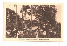 Birmanie-Bassein,Normaliennes à L'Ecole D'Horticulture-(C.5033) - Myanmar (Burma)