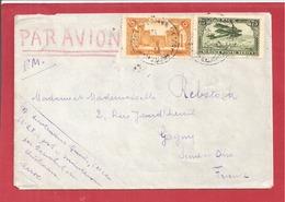 Y&T N°PA5+101 MARAKECH      Vers  FRANCE  1927 - Marokko (1891-1956)