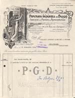 Paris, Papeterie Générale Du Dessin 1924 (superbement Illustrée) - France