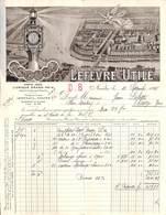 Nantes - Lefèvre-Utile - Marque Lu...petit Beurre 1925 (superbement Illustrée) - France