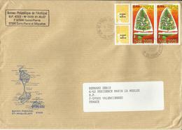 SAINT PIERRE & MIQUELON, 2002, Paire Du N° 787 Sur Lettre - Covers & Documents