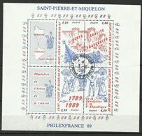 SAINT PIERRE & MIQUELON, N° BF 504-7 Oblitéré à Miquelon - St.Pierre & Miquelon