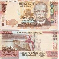 Malawi  New  500 Kwacha  2014  UNC - Malawi