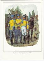 Postillione, Briefträger, Sachsen, 1866 - (Deutsche Postreklame) - '500 Jahre Deutsche Post' - Post