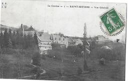 N 1 SAINT SETIERS  VUE GENERALE   MAISONS   DEPT 19 - France