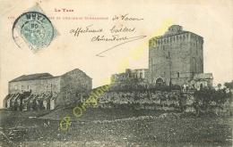 81.  VAOUR .  Château . Ruines De L' Ancienne Commanderie . - Vaour