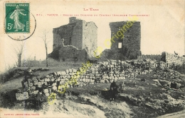 81.  VAOUR .  Restes Des Donjons Du Château .  Ancienne Commanderie . - Vaour
