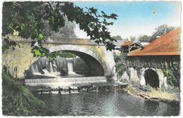 CPSM PONTENX - Le Pont Et Le Déversoir - Ed. Du Moulin N°11 - Autres Communes