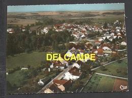 DF / 70 HAUTE SAÔNE / AUTREY-LES-GRAY / VUE GENERALE AÉRIENNE ET LA ROUTE DE GRAY - Autres Communes