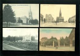 Beau Lot De 10 Cartes Postales De Belgique Bruxelles Jette      Lot 10 Postkaarten Van België Brussel Jette  - 10 Scans - Cartes Postales