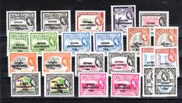 "Guyana   -   1966/67. Serie Sovr. "" Indipendence 1966 ""  Two  MNH  Very Fresh Set - Guiana (1966-...)"