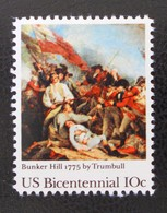 BATAILLE DE BUNKER HILL 1975 - NEUF ** - YT 1054 - MI 1174 - Etats-Unis