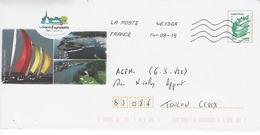 Entier Postal Marianne De Beaujard:  La Forêt Fouesnant. - Entiers Postaux