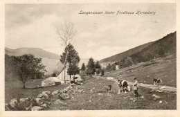 CPA-environs De MITTLACH (68)-Langenwasen Et La Ferme Auberge-Maison Forestière Herrenberg  En 1918 - Frankrijk