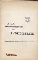 Causerie Faite Au Club De La Publicité De Bruxelles Par R. Dewitt, De L'Agence De Publicité Bodden & Dechy. - Belgique