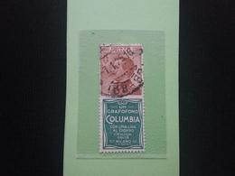 REGNO - Pubblicitari N.9 Timbrato + Spese Postali - 1900-44 Vittorio Emanuele III