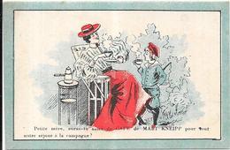 CHROMO Cie FRANCAISE Du MALT KNEIPP à PARIS - Café De Malt - Petite Mère....  La Campagne? - BARA1 - - Tea & Coffee Manufacturers