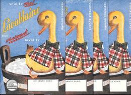 5 Buvards Anciens Produits Ménagers : LAVABLAINE - Vraiment Lavable - 5 Canards Habillés - Textile & Clothing