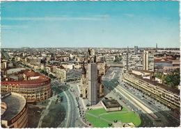 Berlin - Blick Vom Europa-Center Auf Die Kaiser Wilhelm Gedächtniskirche -- 'BOSCH Im Auto' & 'AEG' Neon - (1967) - Mitte