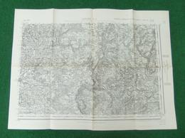 Carte De L'Institut Géographique National - Cahors Sud Est - N° 206 - Année 1941 - Landkarten