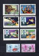 Tchad  1972  .-   Y&T  Nº    105/110-111/112      Aéreos - Chad (1960-...)