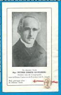 Relic   Reliquia   Mgr.   Petrus Joseph   Savelberg - Images Religieuses