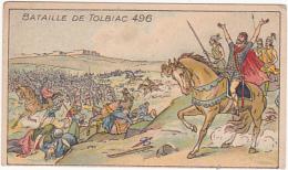 Chromo/image - Pastilles Salmon - Bataille De Tolbiac 496 - Chromos