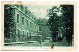 AISNE - Dépt N° 02 = NOTRE DAME De LIESSE 1932 = CPA  = PENSIONNAT Et Ecole Libre - Other Municipalities