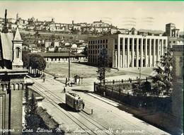 BERGAMO. Casa Littoria. Antonio Locatelli. Tram. - Bergamo