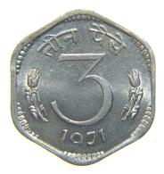 [NC] INDIA - 3 PAISE 1971 - India