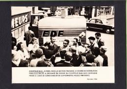 Photo EDF - Paris Section Trudaine électricité - Publicité Colmpteur Bleu - Document  1966  - Lire Descriptif - Métiers